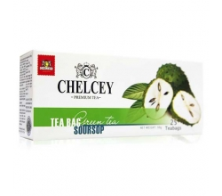 Chelcey чай зеленый с ароматом соу-сеп 25х2г картинка