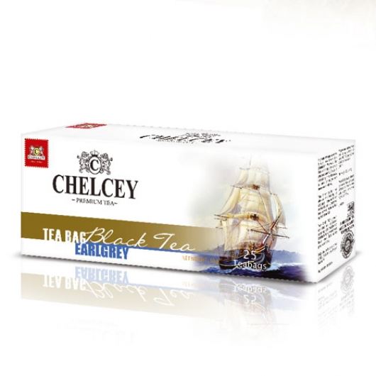 Chelcey чай чёрный Эрл Грей 25×2г купить